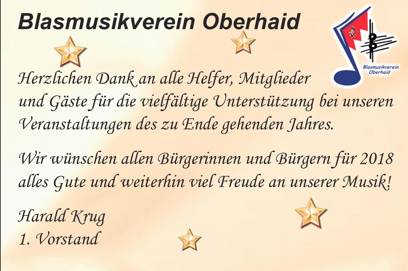 Weihnachtsgrüße Für Gäste.Weihnachtsgrüße Blasmusikverein Oberhaid